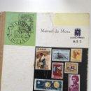 Sellos: FILATELIA. MANUEL DE MORA. ENSEÑANZA PRIMARIA MEC. Lote 124419654