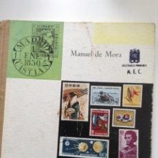 Sellos: FILATELIA MANUEL DE MORA. Lote 124419654
