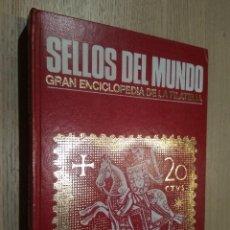 Sellos: SELLOS DEL MUNDO HISTORIA. GRAN ENCICLOPEDIA DE LA FILATELIA. EDICIONES URBIÓN.1981. Lote 126695347