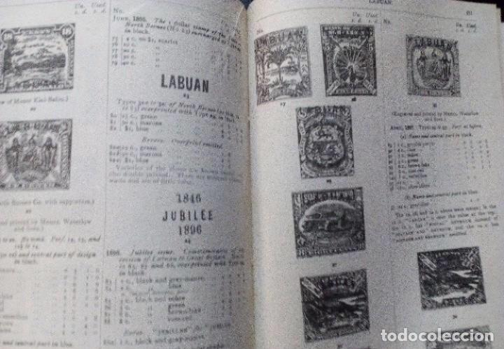 PRICED CATALOGUE OF STAMPS OF THE BRITISH EMPIRE 1917 STANLEY GIBBONS PART  1  445 PAGES + 34