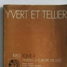 Sellos: CATALOGUE YVERT ET TELLIER TIMBRES SELLOS 1983. Lote 130975960