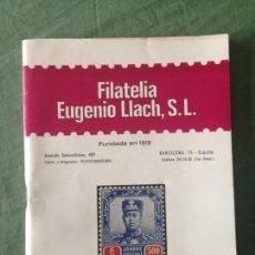 Sellos: CATÁLOGO - FILATELIA EUGENIO LLACH, S.L - SEGUNDA QUINCENA SEPTIEMBRE DE 1973. Lote 130994736