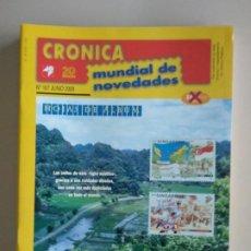 Francobolli: CRONICA MUNDIAL DE NOVEDADES. Lote 131159716