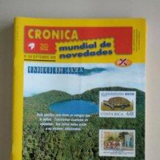 Francobolli: CRONICA MUNDIAL DE NOVEDADES. Lote 131159844