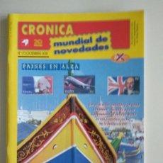 Francobolli: CRONICA MUNDIAL DE NOVEDADES. Lote 131160032