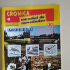 Francobolli: CRONICA MUNDIAL DE NOVEDADES. Lote 131162300