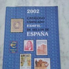 Sellos: CATALOGO EDIFIL 2002. Lote 132193541