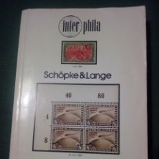 Sellos: CATÁLOGO SELLOS ALEMANIA 1981 DEUTSCHELAND INTER PHILA. Lote 132852943