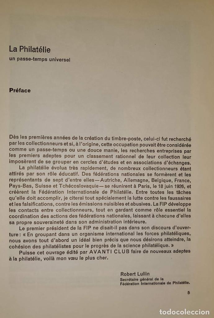 Sellos: LA PHILATÉLIE - Autor: Fernau Curt Nicolaus (En francés-Suiza) Libro sobre Filatelia - Foto 5 - 132905622