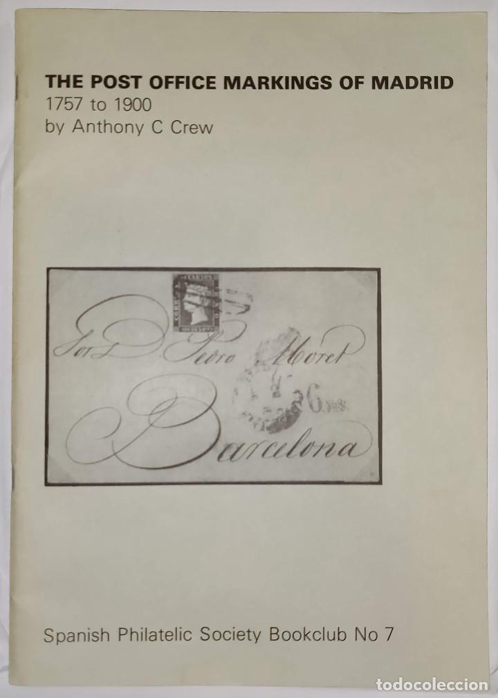 Sellos: 2 libros de la Spanish Philatelic Society Bookclub Nº7 y Nº13. Markings of Madrid. Raros - Foto 2 - 132907398