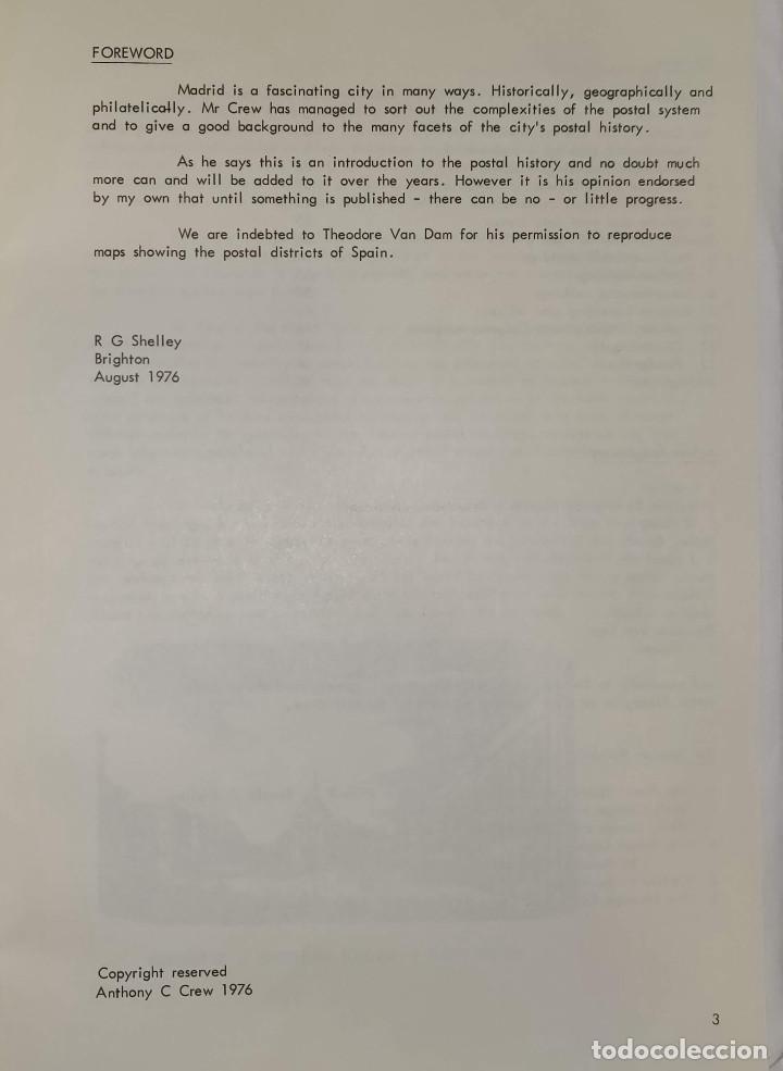Sellos: 2 libros de la Spanish Philatelic Society Bookclub Nº7 y Nº13. Markings of Madrid. Raros - Foto 3 - 132907398