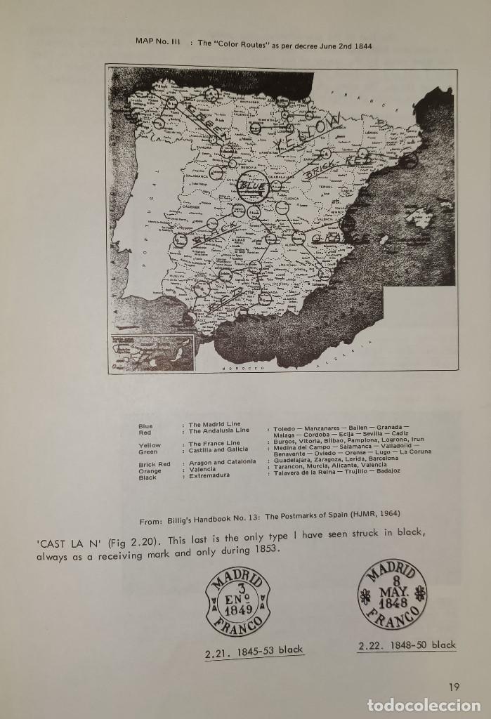 Sellos: 2 libros de la Spanish Philatelic Society Bookclub Nº7 y Nº13. Markings of Madrid. Raros - Foto 7 - 132907398