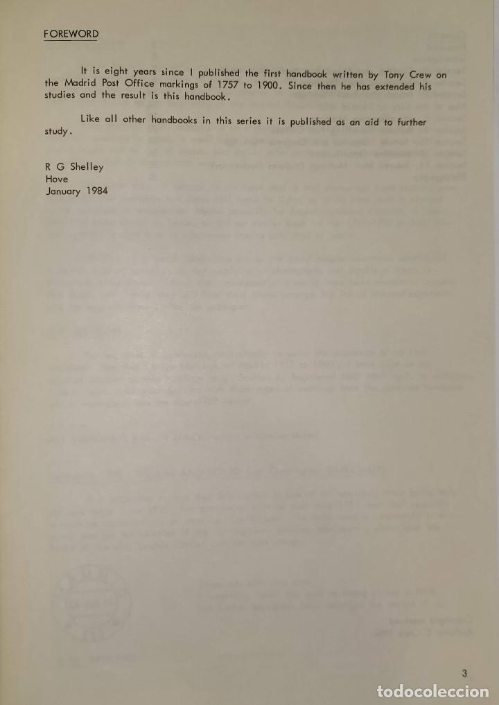 Sellos: 2 libros de la Spanish Philatelic Society Bookclub Nº7 y Nº13. Markings of Madrid. Raros - Foto 10 - 132907398
