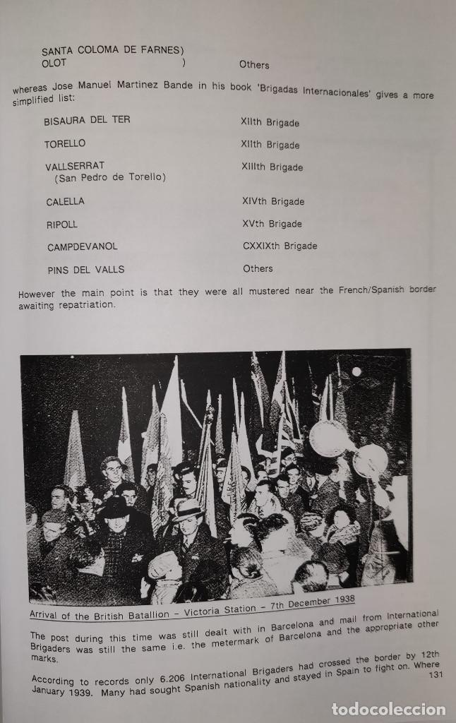 Sellos: The Postal History of the International Brigades 1936-1939 Bookclub Nº11 (2nd. Ed.). R. G. Shelley - Foto 8 - 132911486