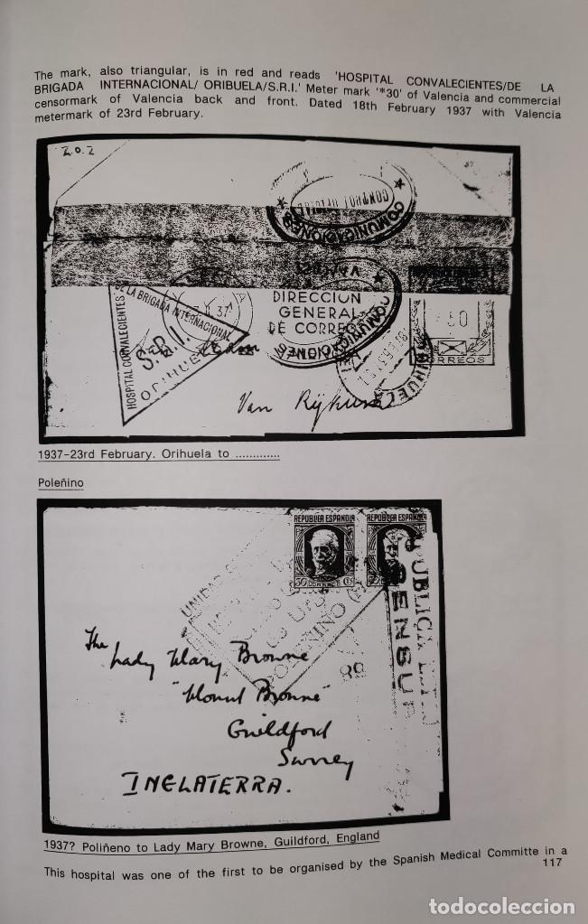 Sellos: The Postal History of the International Brigades 1936-1939 Bookclub Nº11 (2nd. Ed.). R. G. Shelley - Foto 9 - 132911486