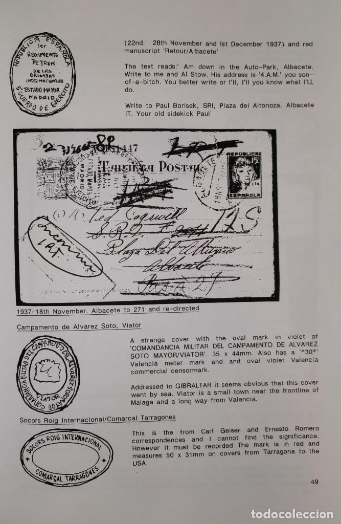 Sellos: The Postal History of the International Brigades 1936-1939 Bookclub Nº11 (2nd. Ed.). R. G. Shelley - Foto 2 - 132911486