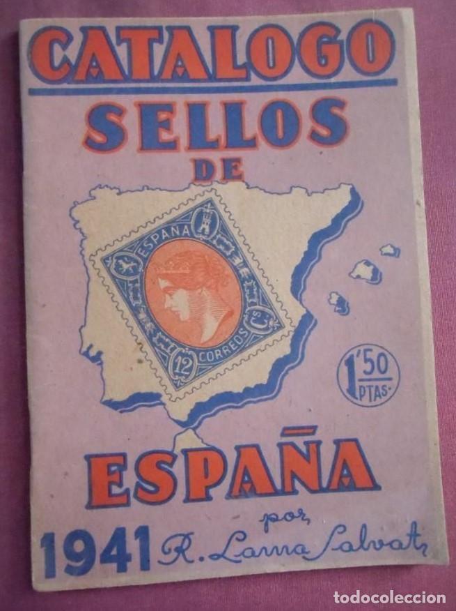 RICARDO DE LAMA 1.941 - 1ª EDICIÓN ORIGINAL (Filatelia - Sellos - Catálogos y Libros)