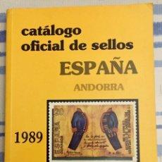 Sellos: CATALOGO OFICIAL DE SELLOS ESPAÑA .ANDORRA. 1990.. Lote 133188358