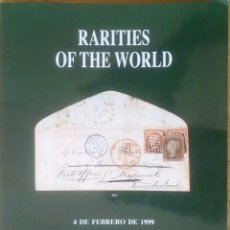 Sellos: CATÁLOGO RARITIES OF THE WORLD. Lote 133873557