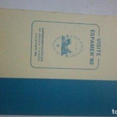 Sellos: CATALOGO UNIFICADO ESPAÑA EDIFIL 1980. Lote 135720115