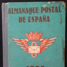 Sellos: ALMANAQUE POSTAL DE ESPAÑA · 1935 · FILATELIA CORREOS · POCO COMÚN . Lote 137468174