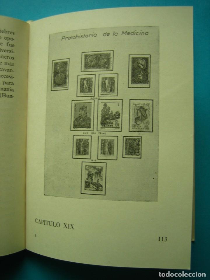Sellos: FILATELIA - LIBRO - LA MEDICINA EN LA FILATELIA - JOSE MARIA BLANCO - COL. LA CORNETA Nº 10 AÑO 1967 - Foto 2 - 140023998