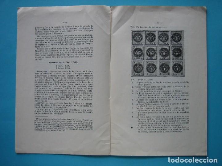 Sellos: FILATELIA LIBRO HISTORIA POSTAL DEl PRINCIPADO DE SERBIA 1866 A 1880 EDITADO EN 1927 - VER FOTOS - Foto 2 - 140033410