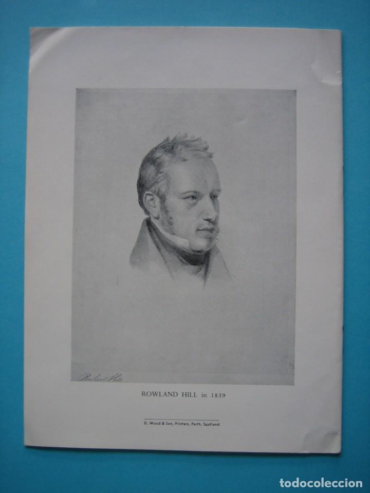Sellos: FILATELIA - LIBRO FOLLETO - DIARIO DE ROWLAND HILL (ABRIL-DICIEMBRE, 1847) - EDITADO EN 1954 - VER - Foto 2 - 140035114