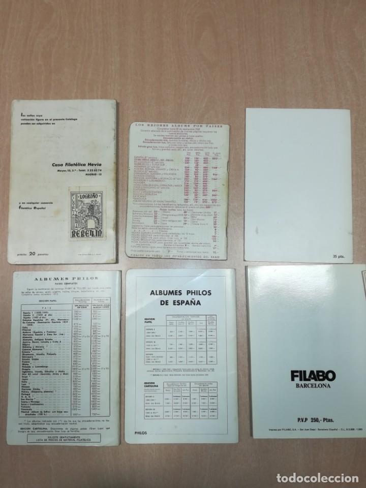Sellos: Lote 6 catálogos sellos de 1962 a 1980 - Foto 18 - 140341686