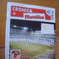 Sellos - REVISTA CRONICA FILATELICA Nº 197 MARZO 2002 - 144116882