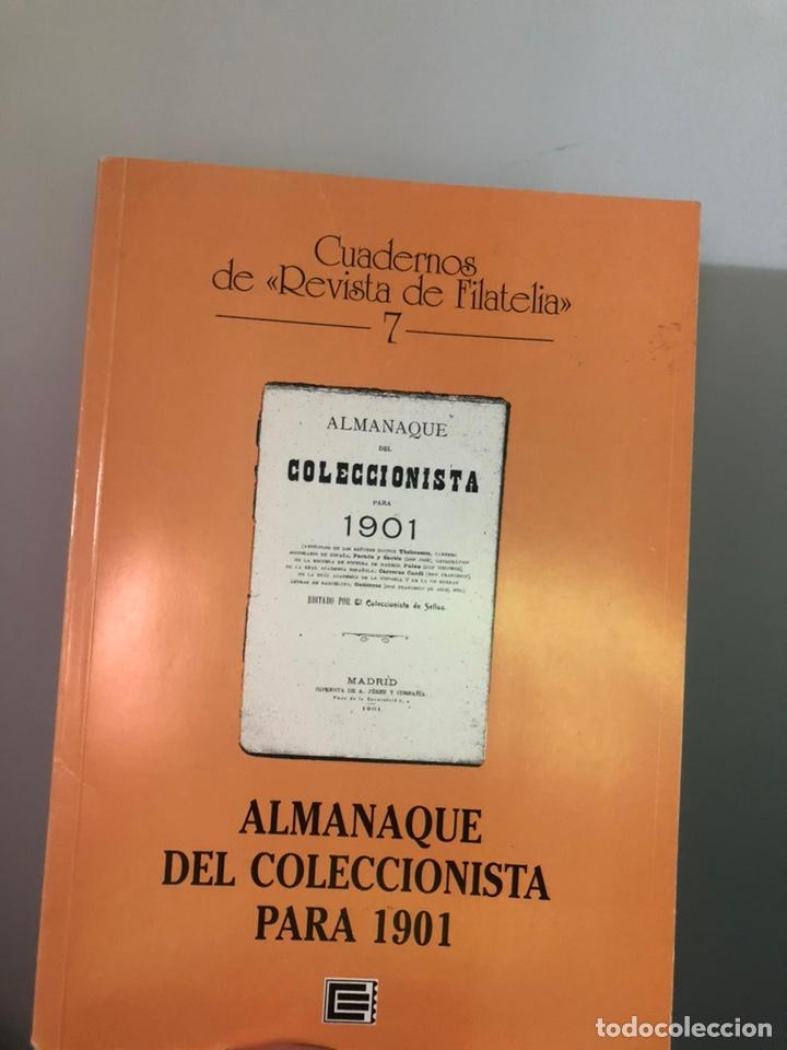 EL ALMAMAQUE DEL COLECCIONISTA DE SELLOS PARA 1901. EDIFIL (Filatelia - Sellos - Catálogos y Libros)