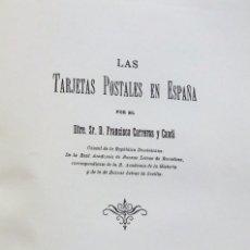 Timbres: LAS TARJETAS POSTALES DE ESPAÑA. Lote 145755418