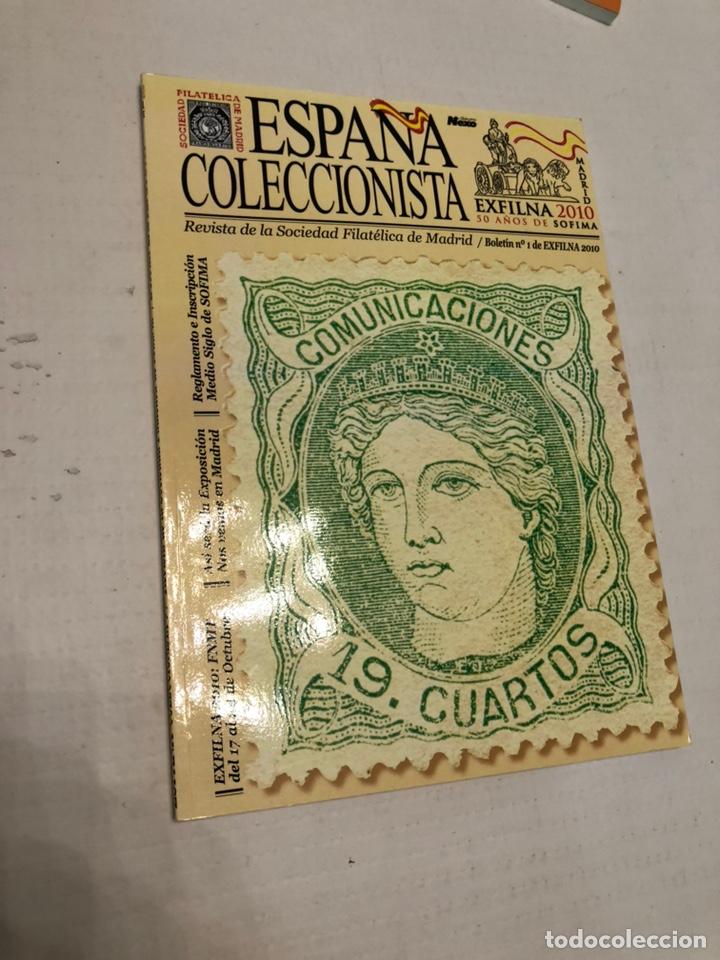 REVISTA ESPAÑA COLECCIONISTA EXFILNA 2010 (Filatelia - Sellos - Catálogos y Libros)