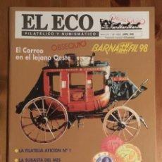 Sellos: EL ECO FILATÉLICO Y NUMISMATICO Nº1052. Lote 146164742
