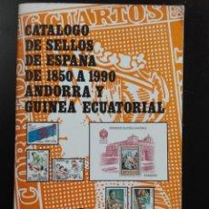 Sellos: CATÁLOGO SELLOS ESPAÑA 1850 1990 FILABO. Lote 146619826