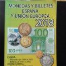 Sellos: MONEDAS Y BILLETES ESPAÑA Y UNIÓN EUROPEA 2018 HERMANOS. Lote 146620226