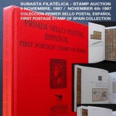 Sellos: PCBROS - COLECCIÓN PRIMER SELLO POSTAL ESPAÑOL - AFINSA - SUBASTA - AUCTIONS - AÑO 1997. Lote 146953346