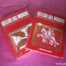 Sellos: SELLOS DEL MUNDO. GRAN ENCICLOPEDIA DE LA FILATELIA. Lote 147174526