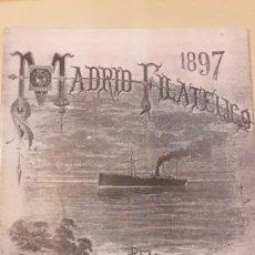 Sellos: REVISTAS MADRID FILATELICO 1997. Lote 147226925