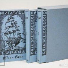 Sellos: 3 TOMOS GUÍA DEL COLECCIONISTA DE SELLOS DE CORREOS DE ESPAÑA, A. TORT - GRUPO FILATÉLICO. REUS,1935. Lote 147990378
