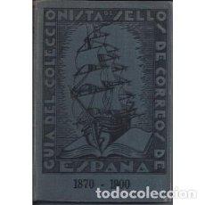 Timbres: GUIA DEL COLECCIONISTA DE SELLOS DE CORREOS DE ESPAÑA 1870-1900. .T. III. ED. ORIGINAL. A. TORT NICO. Lote 149951928