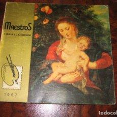 Sellos: LIBRO DE MAESTROS DE LA PINTURA EN LOS SELLOS 1967. Lote 150622130