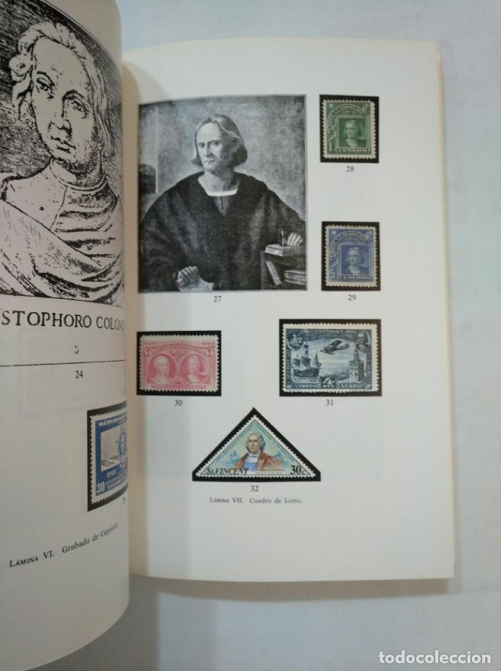 Sellos: EL DESCUBRIMIENTO DE AMÉRICA EN LA FILATELIA MUNDIAL. - MARTÍNEZ MORENO, JUAN M. TDKLT - Foto 2 - 151733226