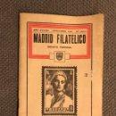 Sellos: MADRID FILATÉLICO. REVISTA MENSUAL NO.440/11 (NOVIEMBRE DE 1935). Lote 151903350