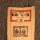 Sellos: MADRID FILATÉLICO. REVISTA MENSUAL NO.442/1 (ENERO DE 1936). Lote 151904252