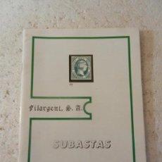 Sellos: SUBASTAS FILARGENT SELLOS JULIO 1991.. Lote 152956106