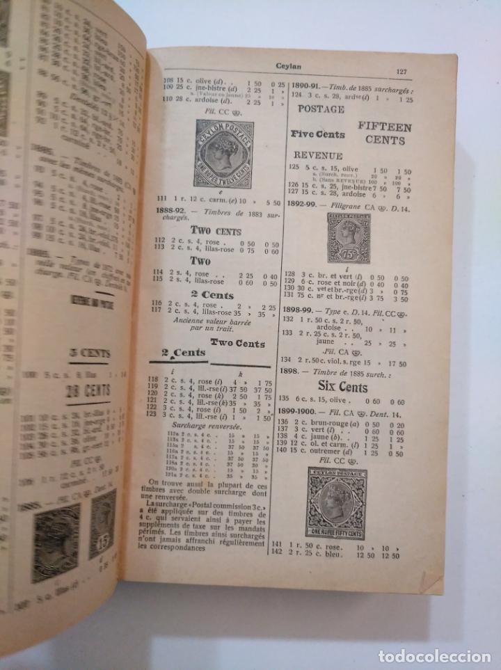 Sellos: CATALOGUE DE TIMBRES POSTE YVERT & TELLIER CHAMPION 1917. TDK374 - Foto 3 - 154660450