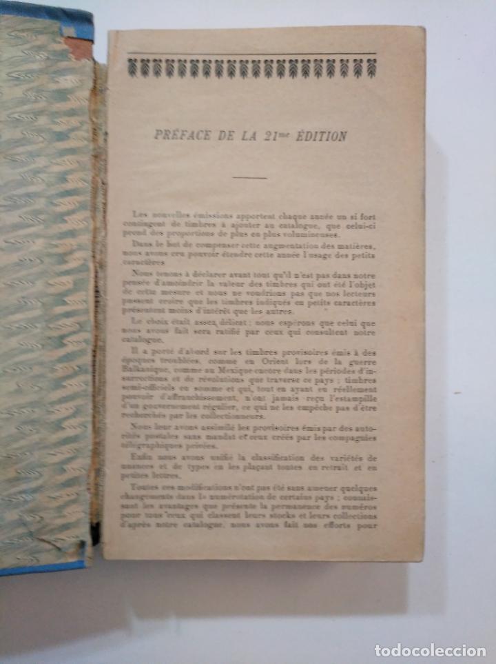 Sellos: CATALOGUE DE TIMBRES POSTE YVERT & TELLIER CHAMPION 1917. TDK374 - Foto 4 - 154660450