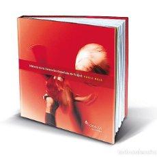 Sellos: LIBRO CON SELLOS DE LA HISTORIA DE LA SELECCION ESPAÑOLA DE FUTBOL. EDITADO POR CORREOS EN 2011. Lote 156295162
