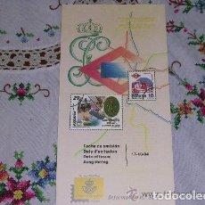 Sellos: FOLLETO EXPLICATIVO 18/94 SERVICIOS PÚBLICOS. Lote 156565890